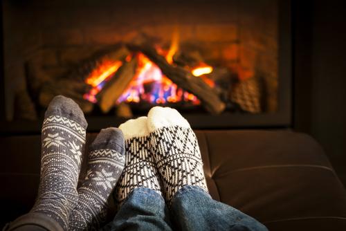 lareira inverno casal