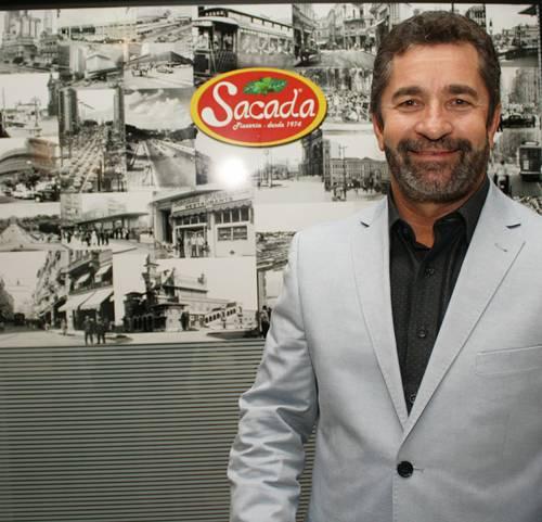 Leandro proprietário da Sacada Pizzaria