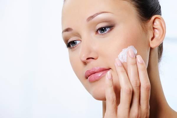 pele rosto mulher creme face