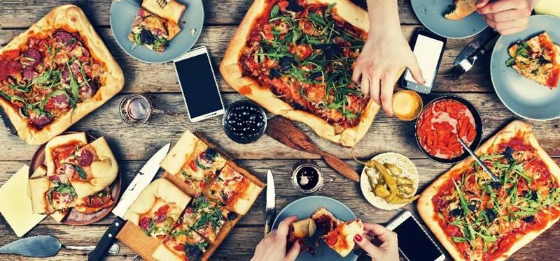 pizza massa jantar almoço comida