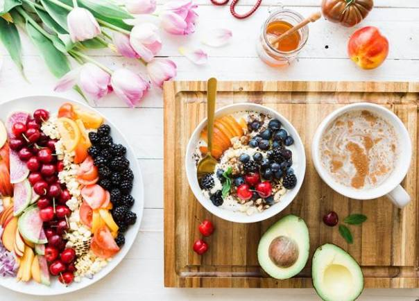 alimentos frutas mel pixabay