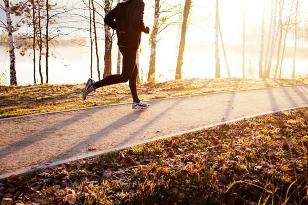 corrida caminhada inverno