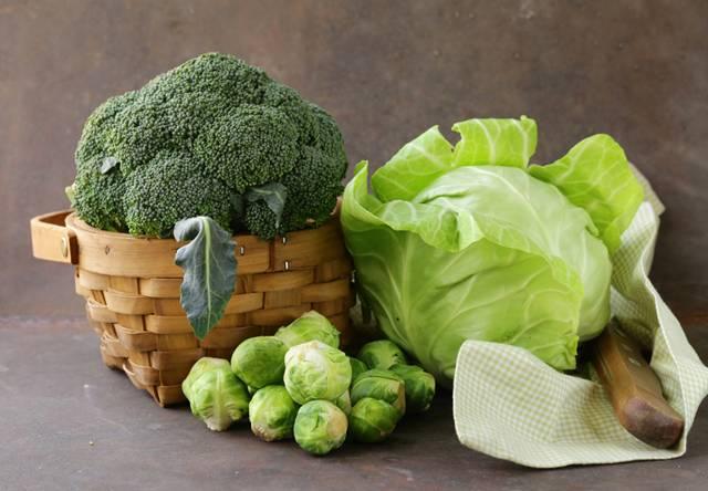couve brocolis