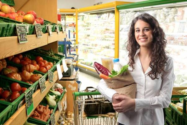 FreeGreatPicture compras supermercado