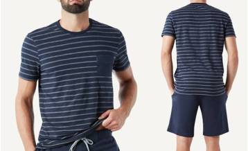 Intimissimi - Pijama Masc Curto - R$ 99,50