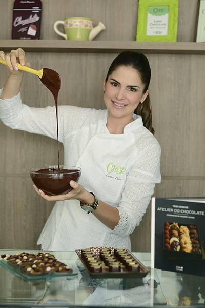 Luana Lessa empresária e chocolatier responsável pelas receitas com alto teor de cacau da ChOr_ Foto Divulgação