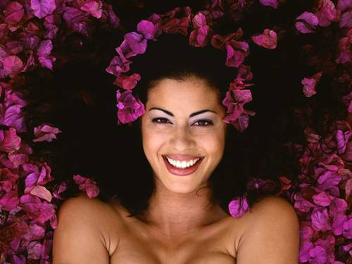 mulher beleza rosto sorriso FreeGreatPicture 4