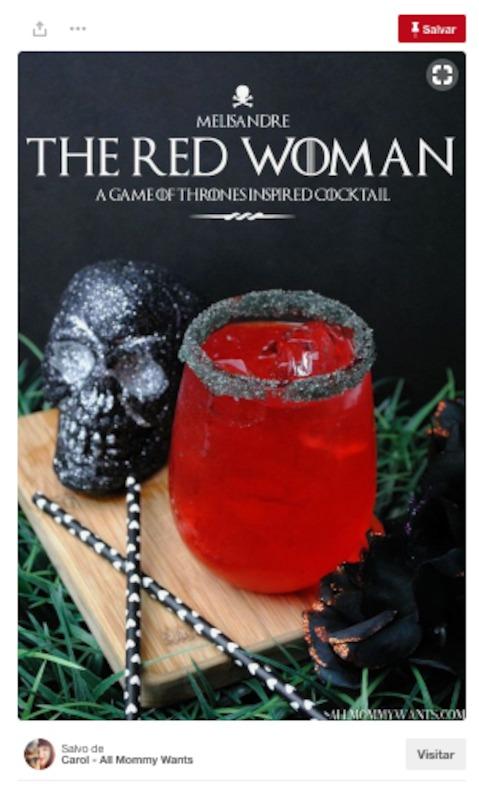 mulher vermelha