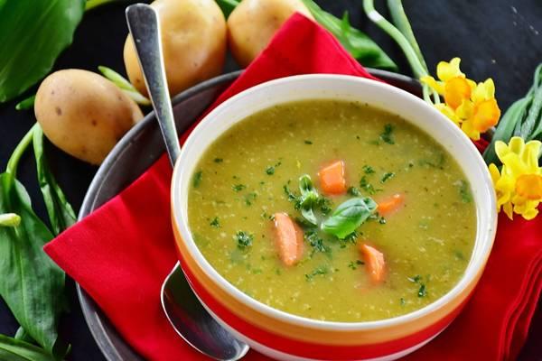 sopa de batata pixabay