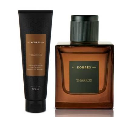 Tharros Fragrancia Masculina Inspiradas em Ares o Deus da Guerra - Deo Parfum e Loção Pós Barba R$ 13000