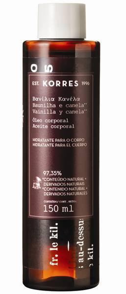 Bath Oil _ BAUNILHA_E_CANELA Korres