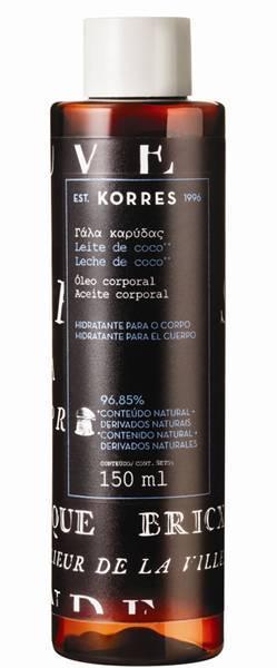 Bath Oil _ LEITE_DE_COCO Korres