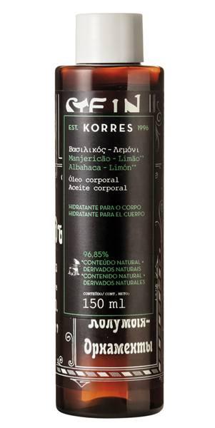 Bath Oil _ MANJERICAO_LIMAO Korres
