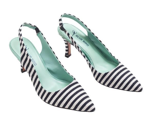 Blue Bird Shoes - Slingback Listrado - R$ 58900 (1)