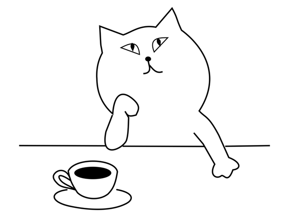 gato café pixabay naobim