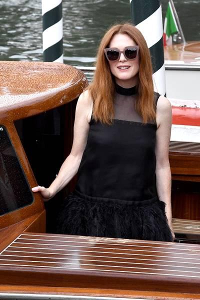 Celebrity Sightings at the 74th Venice Film Festival - September 1, 2017