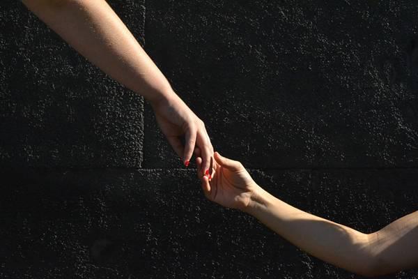 mãos solidariedade