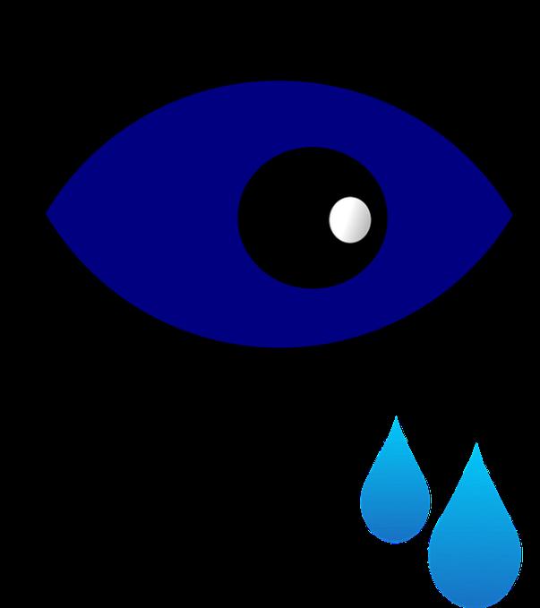 open clipart olhos gotas lagrimas colirio pixabay