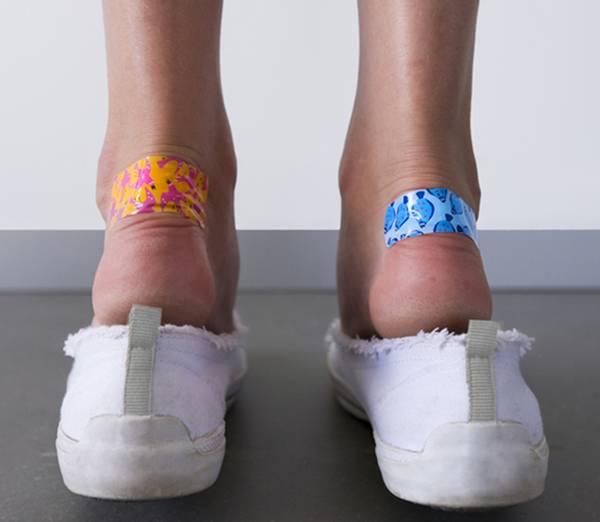 sapato machucado pés bolhas curativos