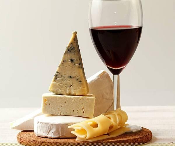 vinho merlot com queijos concha