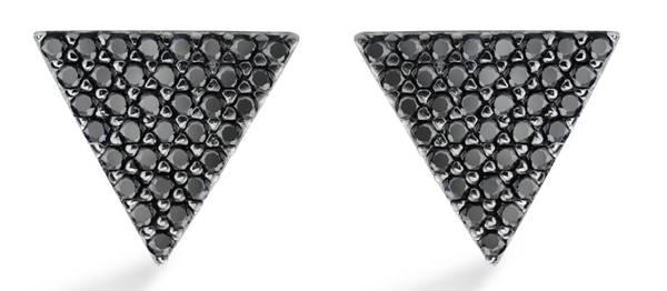 Vivara - Brinco em prata com safiras negras R$690.00