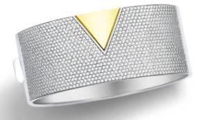 Vivara - Pulseira em ouro amarelo e ouro branco com diamantes R$76.990,00