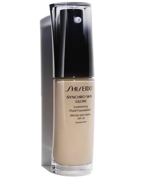 base shiseido glow