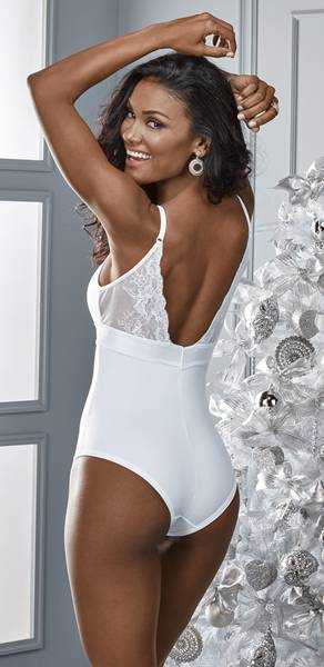 Body Aubade branco costas 98498