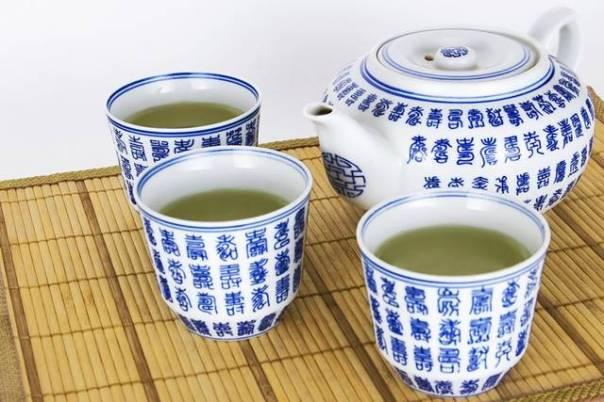 chá verde japones tradicional louça pixabay