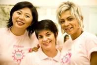 Voluntários Projeto Mechas de Amor - Foto Satoko Goi