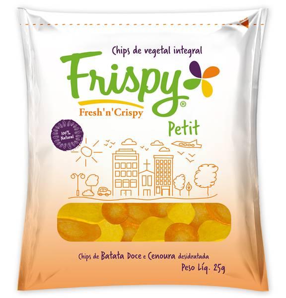 Frispy Petit Batata Doce e Cenoura