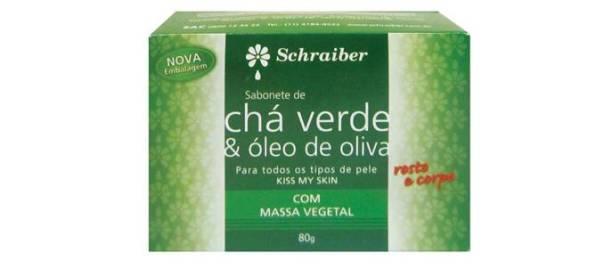 Sabonete de Chá Verde
