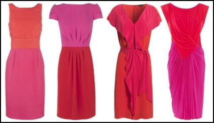 brights-fashion-red-pink-coral-orange-dresses
