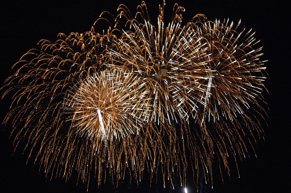 fogos de artificio pixabay