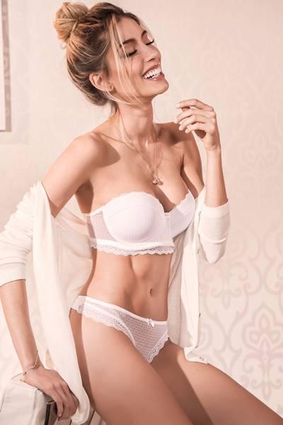 lingerie branca