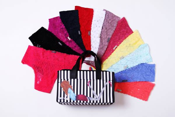 Loungerie - Kit Happy New Panties - R$379,90