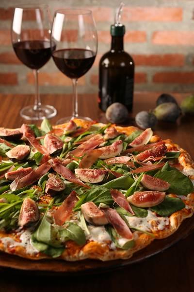 pizza com figo