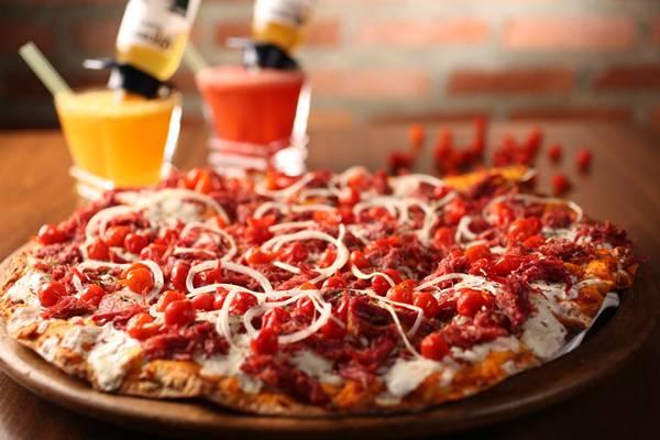 pizza com pimenta