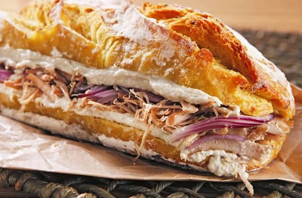 sanduiche pernil
