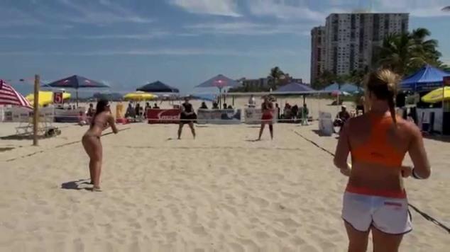 tenis na praia youtube