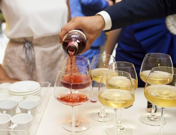 vinho reveillon festa