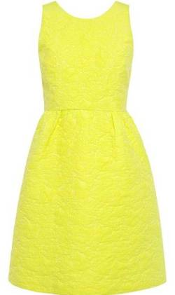 -yellow-dress-summer-tea-party-dresses amarelo