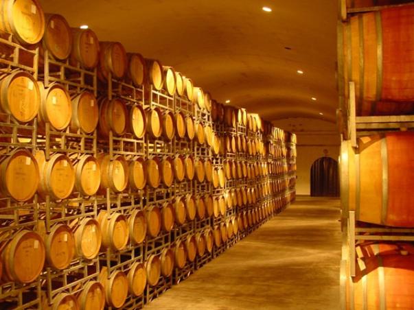 Barris na produção de vinho sul-africana
