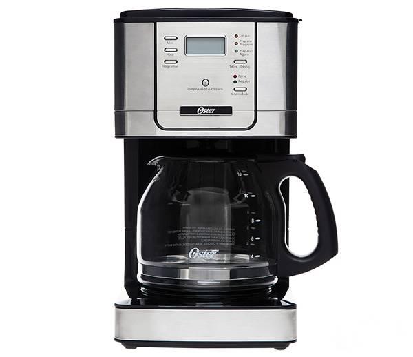 CAFETEIRA CHROME OSTER 220V - DE R$269,90 POR R$199,90
