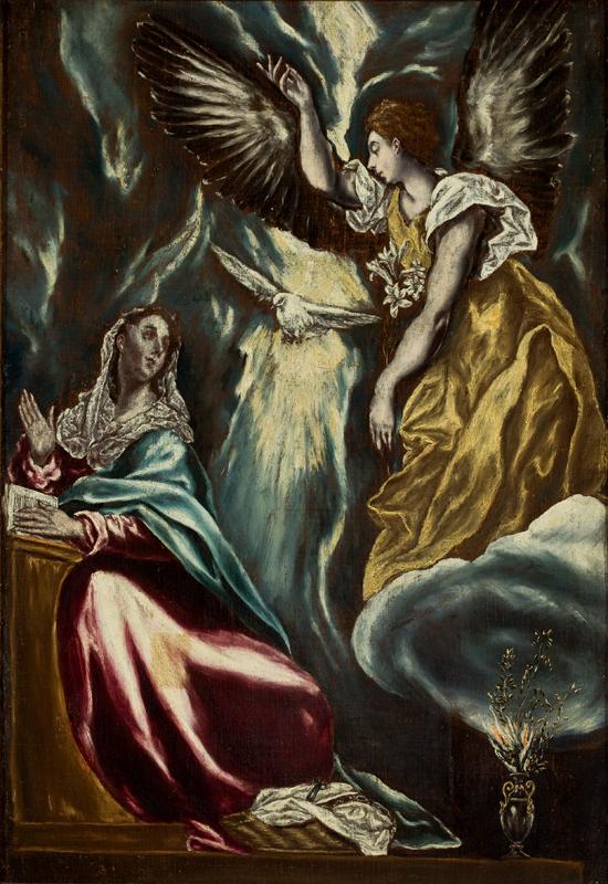 El_Greco_-_Anunciação