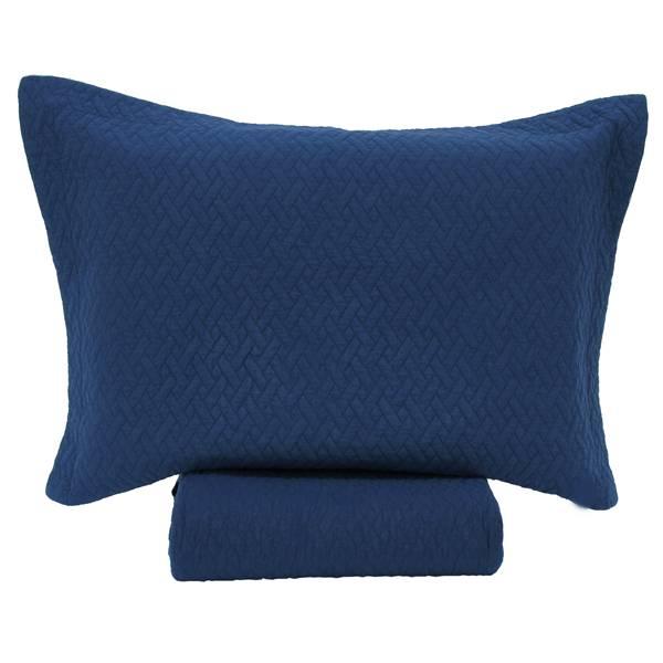 JOGO COLCHA RUSTIC BLUE RAYA CASAL 3PCS - DE R$289,90 POR R$239,90