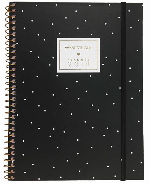 Lojas Americanas_Agenda Espiral Planner West Village Tilibra R$ 3999