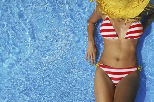 mulher verão praia piscina corpo