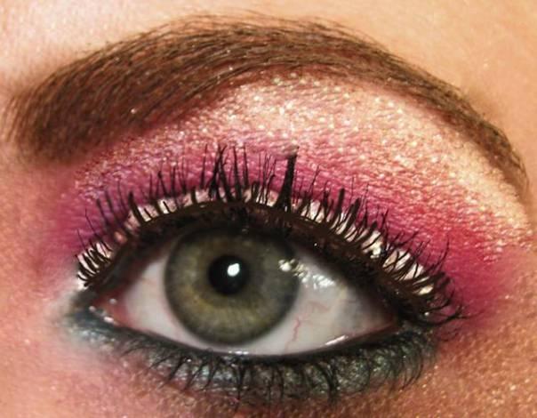 olho maquiagem carnaval flickr