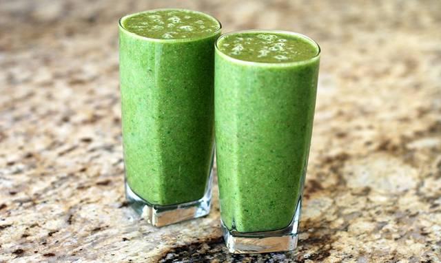 smoothie verde suco pixabay